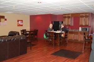 John A. Gupton Student Lounge Students Studying